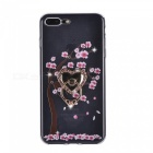 BLCR Happy Tree Pattern TPU Case for IPHONE 7 - Black + Pink
