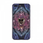 BLCR Leaves Pattern TPU Case for IPHONE 7 - Multicolor