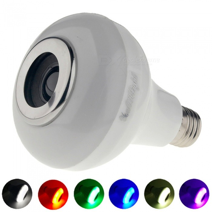 YouOKLight E27 5W Portable Bluetooth RGB Music LED ampoule (AC220 ~ 240V)