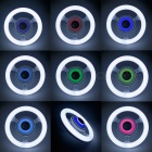 YouOKLight E27 24W Bluetooth RGB Music LED ring glödlampa (220 ~ 240V)