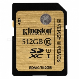 Kingston 512GB SDXC UHS-1 Class10 SDA10/512GB