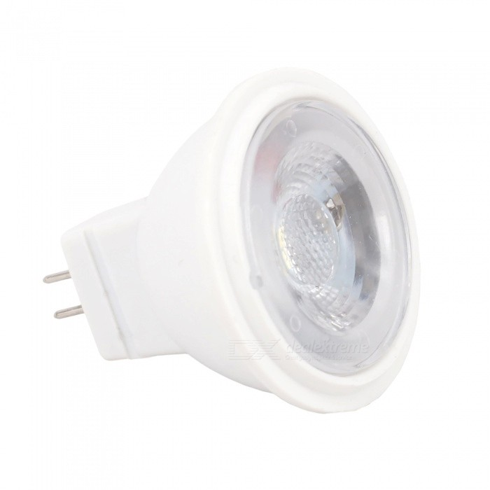 MR11 2W 3-LED 2835SMD Dimming LED Warm White Light Lamp (AC/DC12V)