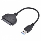 BSTUO USB 3.0 Muž se SATA 2.0 Adapter Cable - Black (25 cm)
