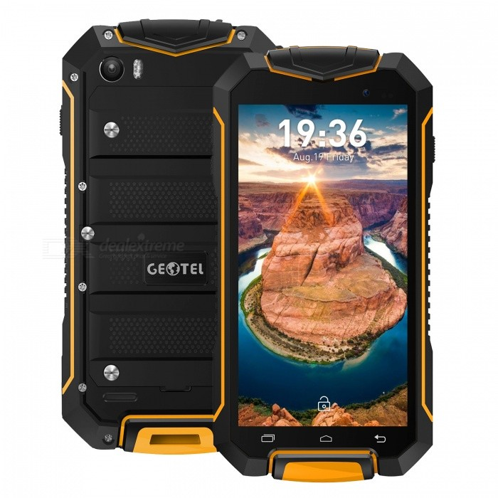GEOTEL A1 Android 7.0 Quad-Core Smartphone w/ 1GB RAM 8GB ROM - Orange