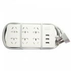 Xiaomi Mijia Mi Power Strip Sockets w/ 3-Port USB, 6 Sockets - White