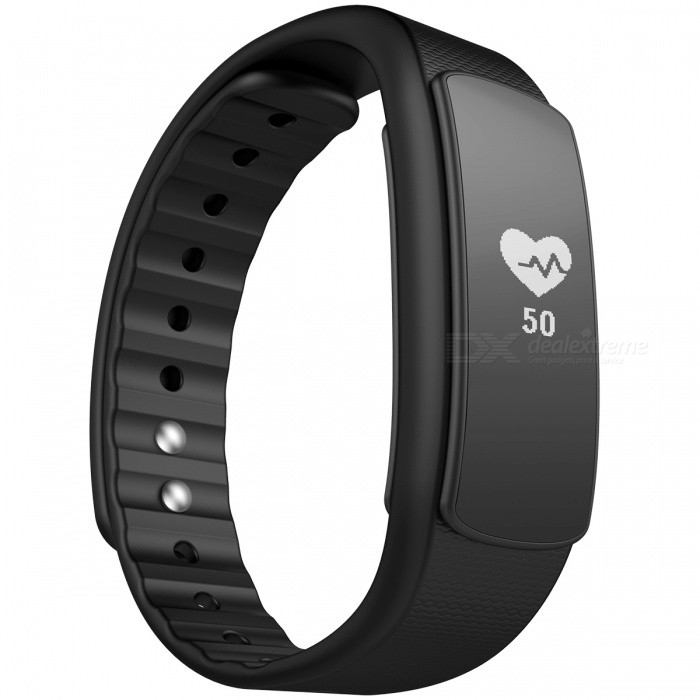 iwownfit I6HR TPU + TPE Bluetooth v4.0 IP67 Smart Wristband - Black [фото2]