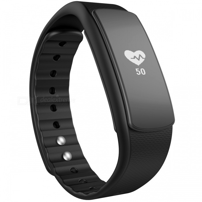 iwownfit I6HR TPU + TPE Bluetooth v4.0 IP67 Smart Wristband - Black [фото4]