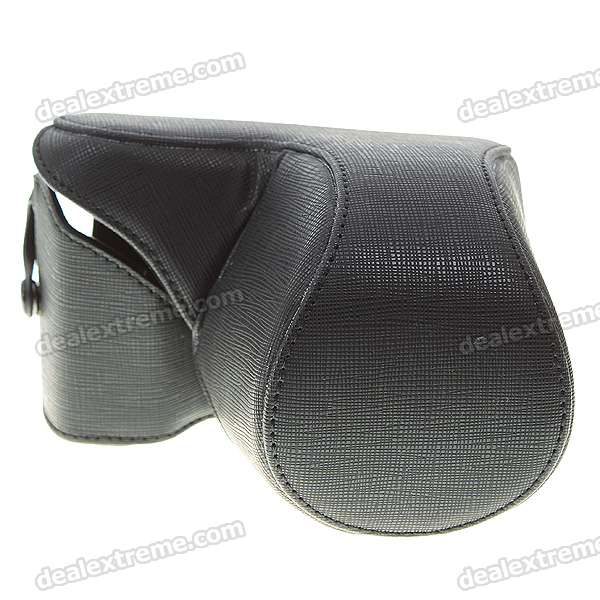 Protective Carrying Bag for Sony NEX5C Camera - Black
