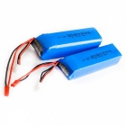 Buy HJ 7.4V 3000mAh Battery FRSKY X9D PLUS Remote Control - Blue + Red