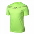 LUCKY SAILING LS01 Quick Dry Men's Short Sleeve T-shirt - Green (XL)