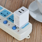 TUTUO 21W 2-Port USB Travel Quick Chargeur mural universel (US Plugs)