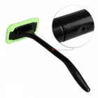 Microfiber Auto Car Window Windshield Cleaner - Grass Green + Black