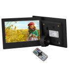 "7"" Digital Photo Frame w/ 8GB Memory & IR Remoter Power Adapter -Black"