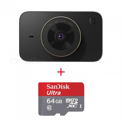 Xiaomi MiJia Video Recorder Car DVR w/ SONY IMX323 Sensor, 64GB Memory