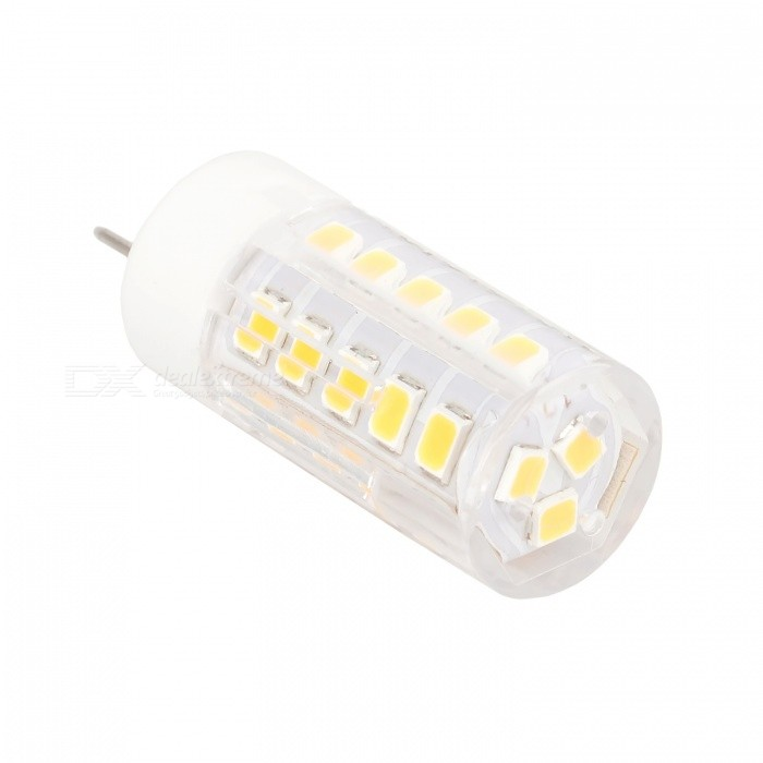 GY6.35 300lm 51-SMD 2835 LED ampoule blanche chaude (AC / DC12V)