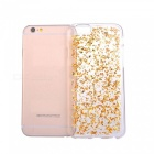 Gold Foil Smooth TPU Silicone Case for IPHONE 7 - Golden