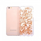 Goldfolie glattes TPU Handy zurück Fall für IPHONE 7 - Rose Gold