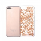 Goldfolie TPU Handy zurück Fall für IPHONE 7 PLUS - Rose Golden