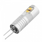 YouOKLight G4 2.5W 6-LED 3014SMD LED Cold White Light polttimot (4PCS)