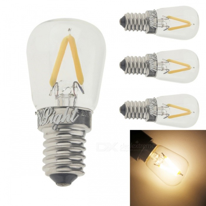 YouOKLight E14 2W LED Warm White Filament Light Bulbs (4PCS)