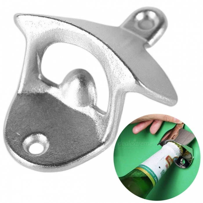 Wall Mounted Unique Design Metal Beer Bottle Openers