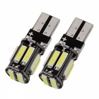 T10 5W White Light 6000K 400lm LED Car Clearance Lamp  (2 PCS /DC 12V)