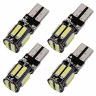T10 5W White Light 6000K 400lm LED Car Clearance Lamp (4 PCS /DC 12V)