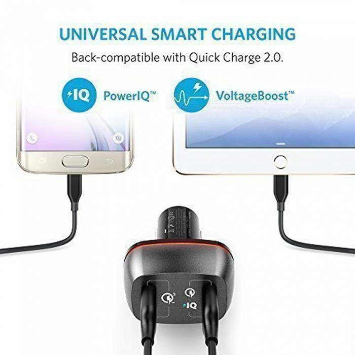 Anker Quick Charge   Dual Car Charger