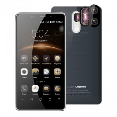 LEAGOO M8 Pro Quad-Core 4G Phone w/ 2GB RAM 16GB ROM - Gray