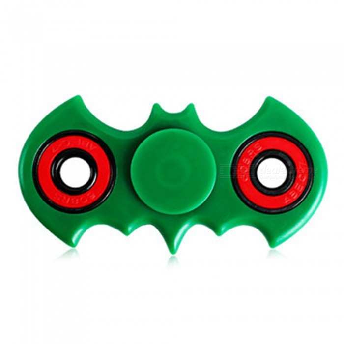 Maikou Bat tvaru ABS Finger Gyro Stress Relief Toy - Green