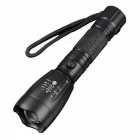 Buy Jiaoyan T6 Aluminum Alloy High Power Zoom Rechargeable LED Flashlight