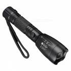 Jiaoyan T6 Aluminum Alloy High Power Zoom Rechargeable LED Flashlight