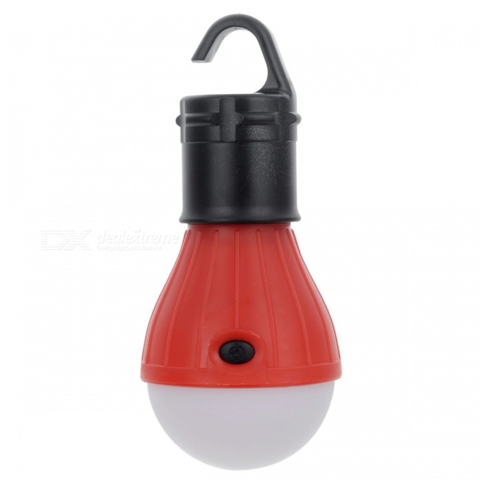 3-LED 3-Mode 600lm Cold White Tent Lamp w/ Hook for Camping - RedOutdoor Lantern<br>Form  ColorRedQuantity1 DX.PCM.Model.AttributeModel.UnitMaterialABS + LEDNumber of Emitters3Battery TypeAAABattery Number3Battery included or notNoNumber of Modes3Actual Lumens600 DX.PCM.Model.AttributeModel.UnitLantern TypeElectricBest UseFamily &amp; car camping,Camping,Mountaineering,FishingPacking List1 x LED lamp<br>
