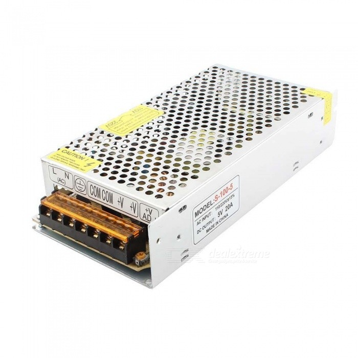 AC 110V / 220V to DC 5V 20A 100W Switch Power Supply Converter