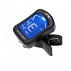 Aroma AT-355 Clip-on Electric Tuner for Chromatic / Guitar - Black