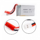 3.7V 1000mAh 20C Lipo Batterie pour Mini Drone RC, Quadcopter