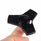 Ultra Straight Triangle Finger Toy Gyro Rotator Spinner - Black