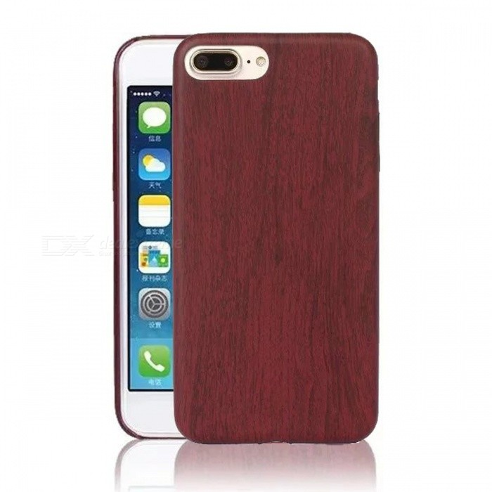 Ultra Thin Soft PU Cuir pour IPHONE 7 PLUS - Rouge Claret