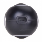 Mini Panoramic 360 Camera Live HD Dual Wide Angle Lens VR Video Camera