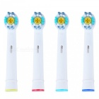 Oral Hygiene Rotary Electric Toothbrush Heads Soft Bristles (4Pcs)