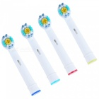 Oral Hygiene Rotary Electric Toothbrush Heads Soft Bristles (4Pcs) [фото2]