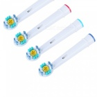 Oral Hygiene Rotary Electric Toothbrush Heads Soft Bristles (4Pcs) [фото4]