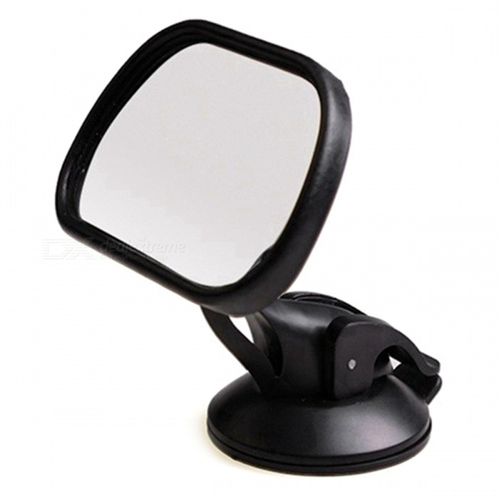 Ziqiao car adjustable car baby safety seat rearview mirror black
