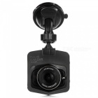 KELIMA 1080P Full HD High Definition Dual Lens Car Recorder - Black