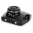 KELIMA 1080p Full HD High Definition Dual Lens Car Recorder - Svart