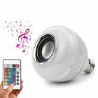 YK0064 Mini Smart Audio Speaker RGB Music LED Light Bulb for Disco, Birthday Party, Club, Bar, Stage