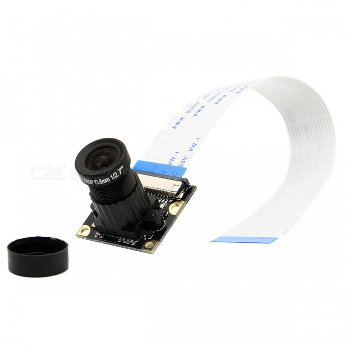 Geekworm 5M 1080P Night Vision Camera for Raspberry Pi - White + BlackRaspberry Pi<br>Form  ColorWhite + BlackModelN/AQuantity1 DX.PCM.Model.AttributeModel.UnitMaterialPCBEnglish Manual / SpecYesDownload Link   http://www.raspberrypiwiki.com/index.php/RPi_Camera_APacking List1 x Camera module1 x 15-pin FFC Cable (15 cm length)<br>