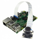 Geekworm 5M 1080P Night Vision Camera for Raspberry Pi - White + Black