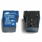 Hochwertiges SLA-12VDC-SL-C DC 12V SONGLE Power Relay (2Stk)-Blau
