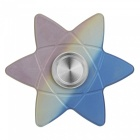 FURA Hexagram Pattern Titanium Alloy Hand Spinner Toy - Colorful